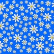 Flower background blue white — Stockfoto #1749867