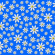 Stock Photo: Flower background blue white
