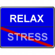 Business Motivation Sign Relax — Zdjęcie stockowe #1749952