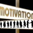 Business Motivation Sign — Stock Photo #1749975
