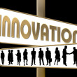 Stock Photo: Business Motivation Sign Innovation