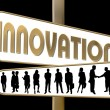 Business Motivation Sign Innovation — Zdjęcie stockowe #1749983