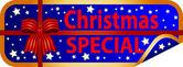 Button Christmas Special — Stock Photo