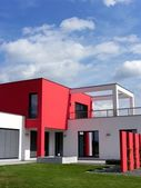 Moderne bungalow — Stockfoto