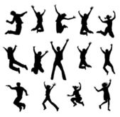 跳跃 — 图库照片
