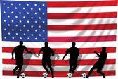 Soccer player USA — Stock Photo