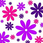 Flower background pink purple — Stock Photo