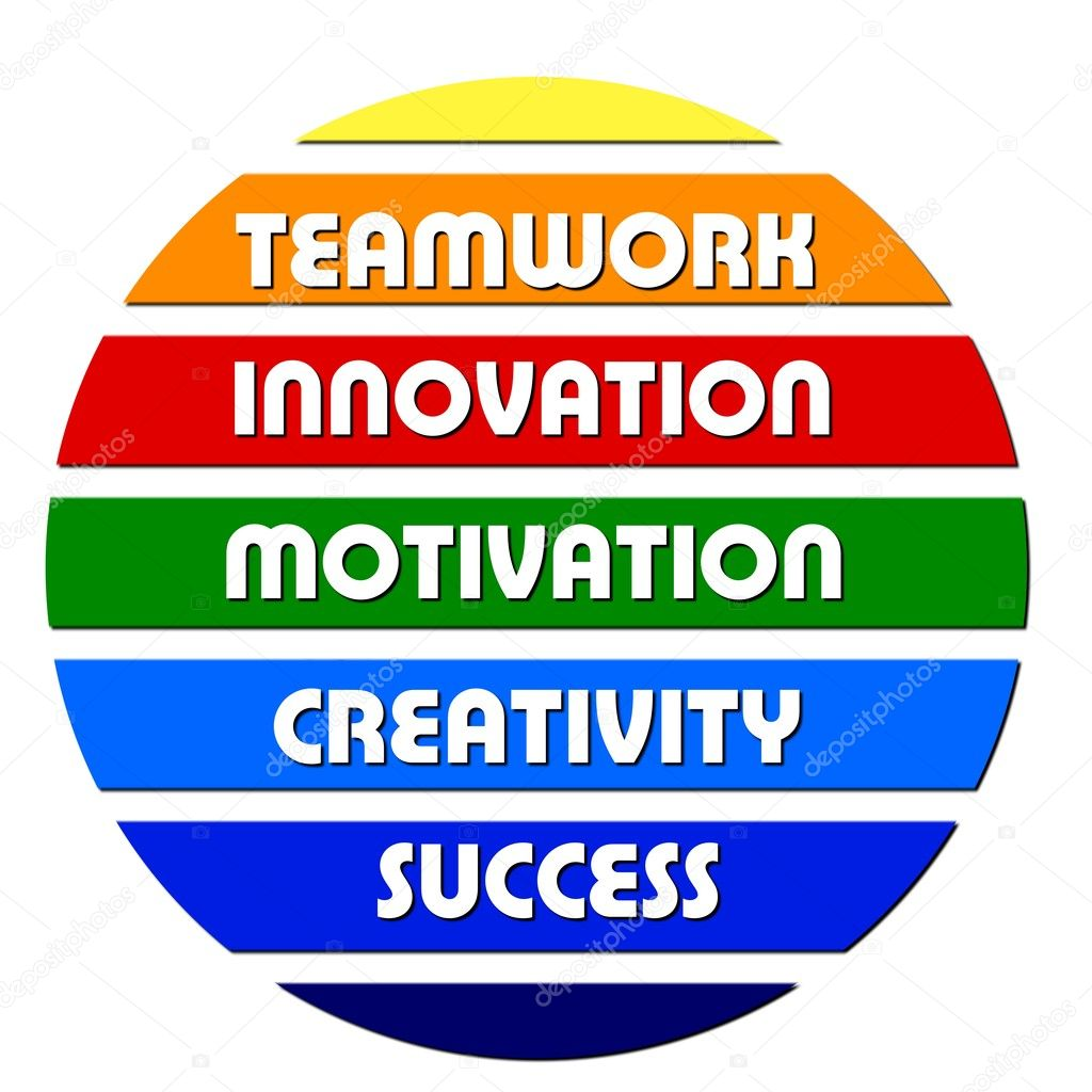 Colorful Business motivation slogans — Stock Photo #1740374