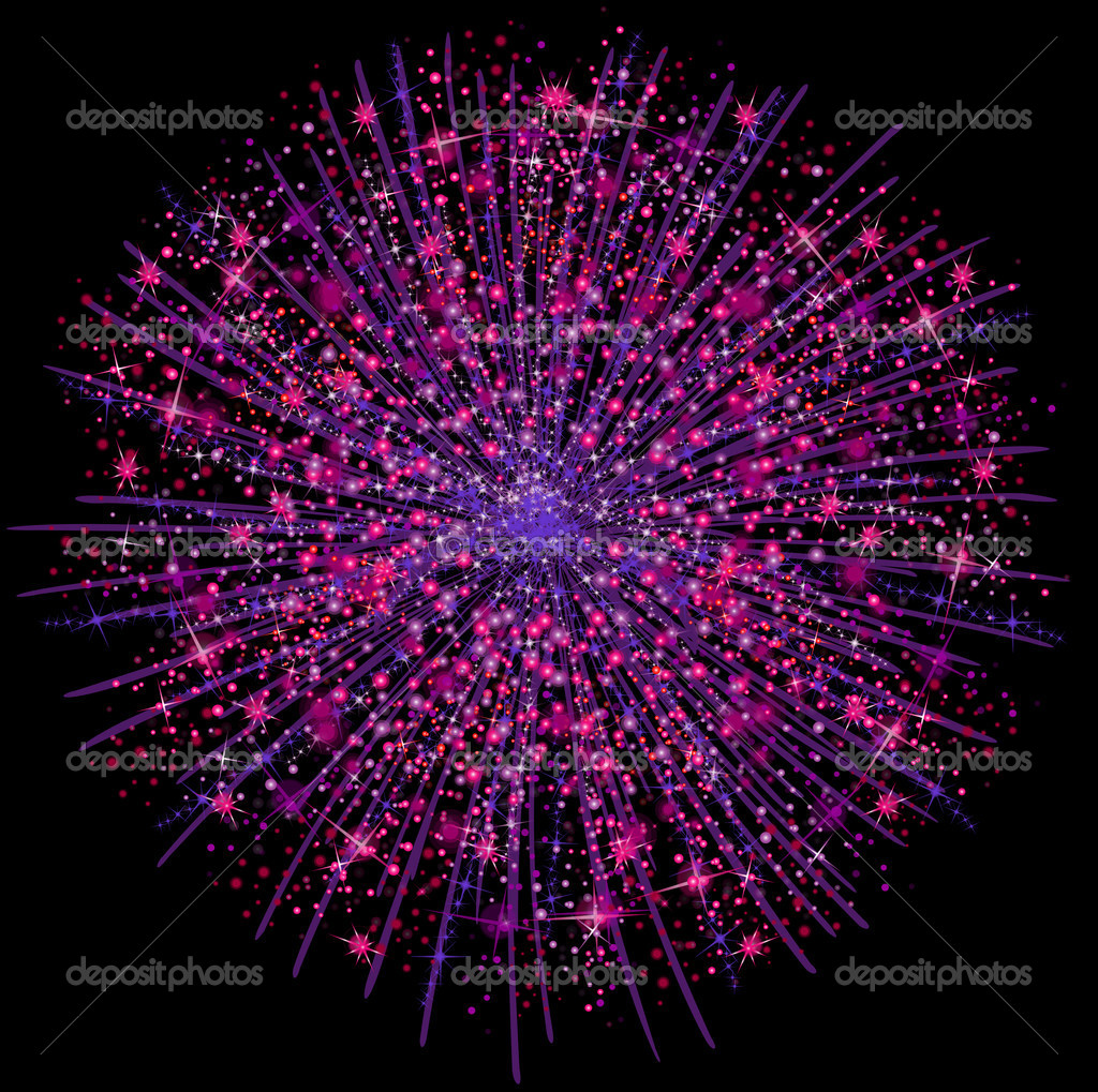 Illustration of a fireworks — Stock Photo #1740962