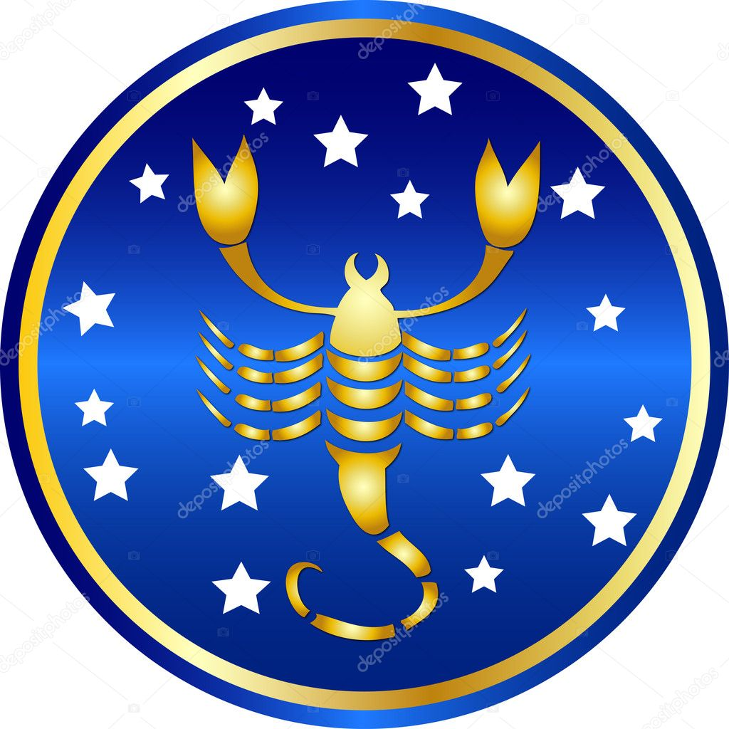 Zodiac sign scorpio  — Stock Photo #1743045