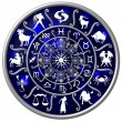 Zodiac Disc blue — Stock Photo #1750666