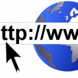 Stok fotoğraf: World Wide Web themed background