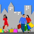 Love shopping — Stock Photo
