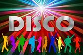 Dancing in Disco — Stock Photo