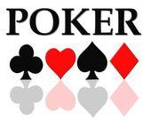 Poker Background — Stock Photo
