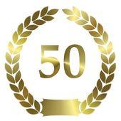 Lauwerkrans 50 — Stockfoto