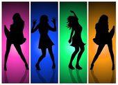Sexy Ladies Collage — Stock Photo