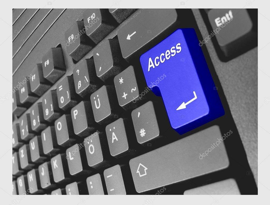 Special PC Keyboard Access — Stock Photo #1750002