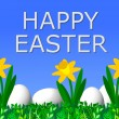 Happy Easter Background — Stock Photo #1762140