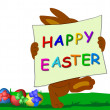 Stock Photo: Happy Easter Bunny