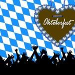 Bavarian style party background — Stock Photo #1763614