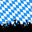 Stock Photo: Bavaristyle party background