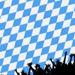 Bavarian style party background — Stock Photo #1763633