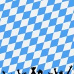 Bavarian style party background — Stock Photo #1763663