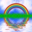 Colorful rainbow — Stock Photo