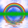 Stock Photo: Colorful rainbow