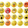 Stock Photo: Set of Web smileys