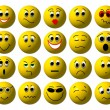 Set of Web smileys — Stockfoto #1765574