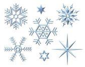 Ice crystals — Stock Photo
