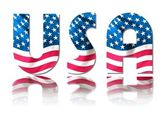 Stars & Stripes USA — Stock Photo