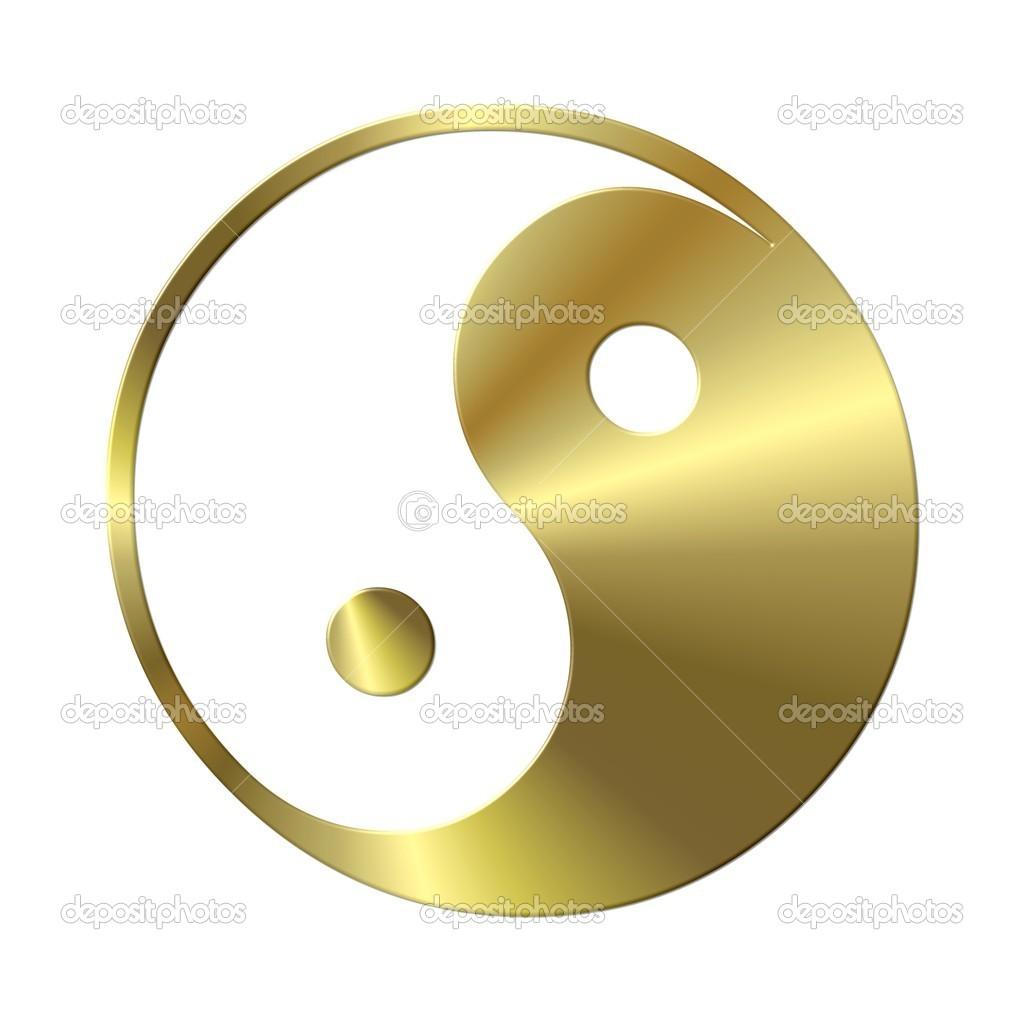 Yin & Yang sign — Stock Photo #1765496
