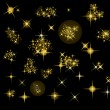 Set of vector stars — Stock Vector #1777548