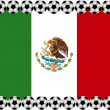 Stock Vector: Soccer Mexico