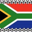 Soccer South Africa — Stock Vector