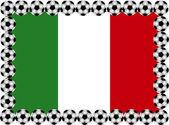 Calcio italia — Vettoriale Stock
