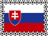 Soccer Slovakia — Stock Vector