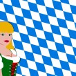 Bavarian girl — Stock Photo #1780821