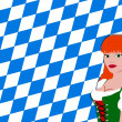 Bavarian girl — Stock Photo #1780872