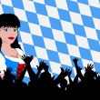 Bavarian girl — Stock Photo #1780887