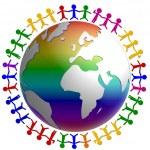 Peace around the world — Stock Photo