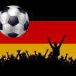 Stock Photo: GermSoccer Fans