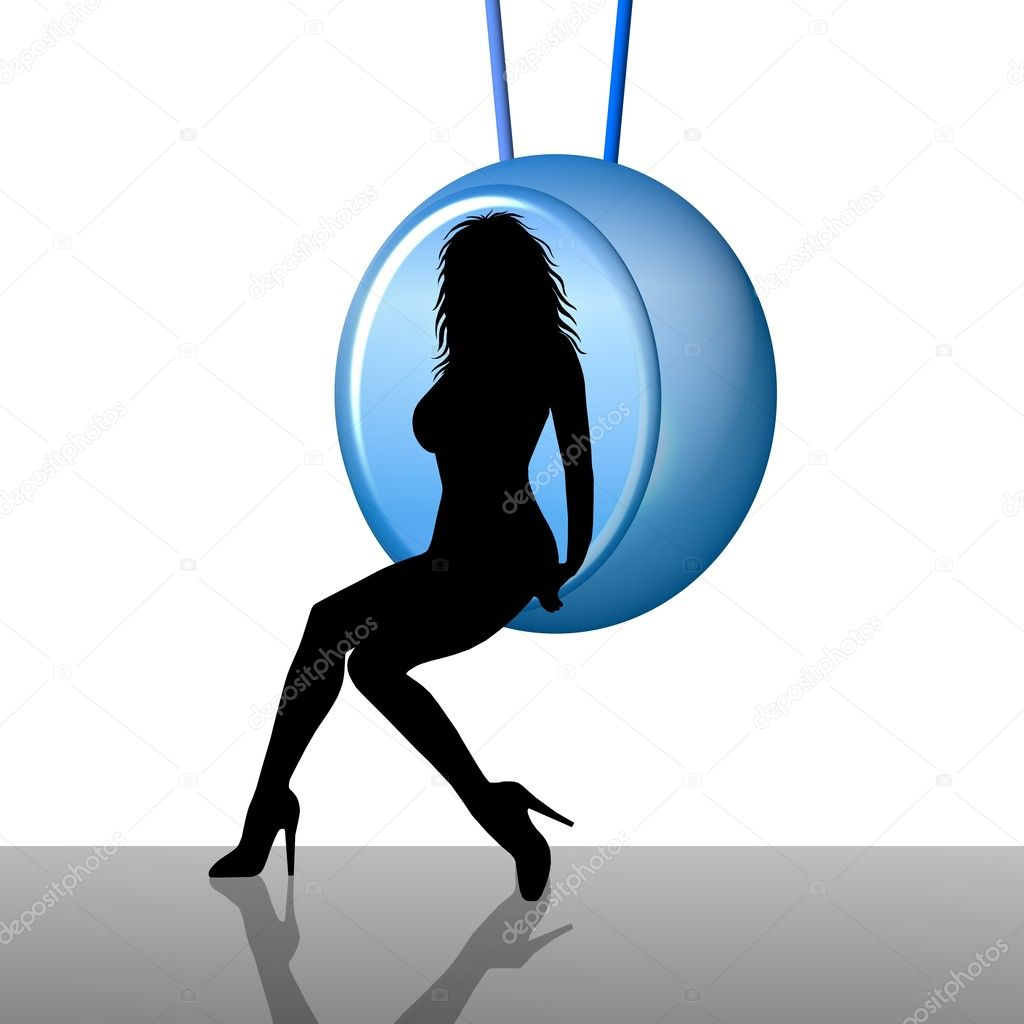 Girl in the Bubble — Stock Photo #1780848
