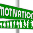 Business Motivation Sign — Stock Photo #1825298
