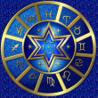 Zodiac Disc blue — Stock Photo #1829093