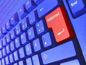 Special PC Keyboard Internet — Foto Stock