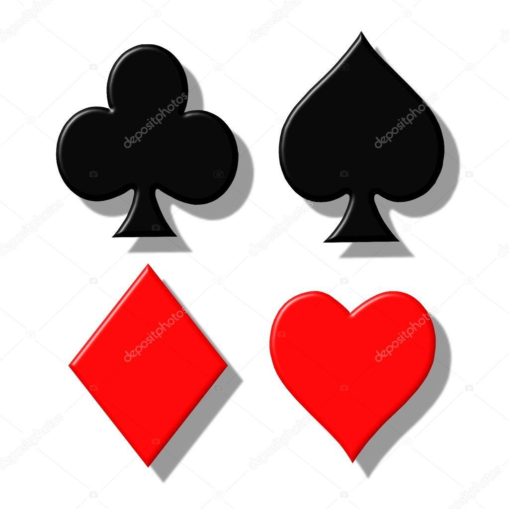 Symbole Kartenspiel